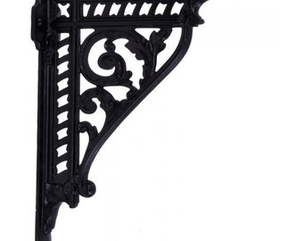 Pair Cast Iron Shelf Bracket