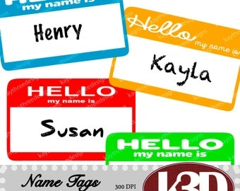 name tag clipart etsy name clip art free name clip art free images