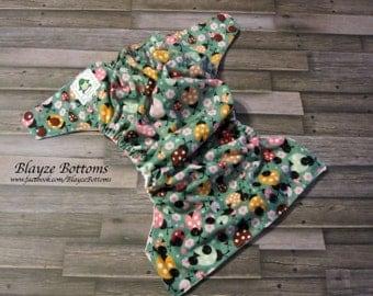 Ladybugs OS Pocket Cloth Diaper