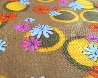 German Vintage fabric 50 x 90: flower