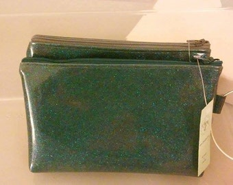 Sale**  Wristlet purse Sparkle Vinyl with bracelet for handle fully lined