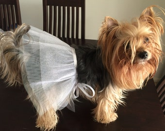 Fashion dog tutu skirt for wedding