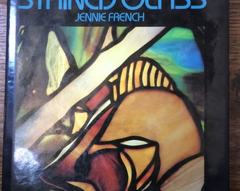Design for Stained Glass (Hardcover) by Jennie French Instructions and patterns. Lead Lighting How To.