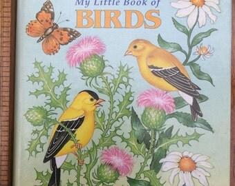 My Little Book of Birds (Golden Tell-a-Tale Book) (A Golden tell-a-tale book) (Hardcover) by Gina Ingoglia
