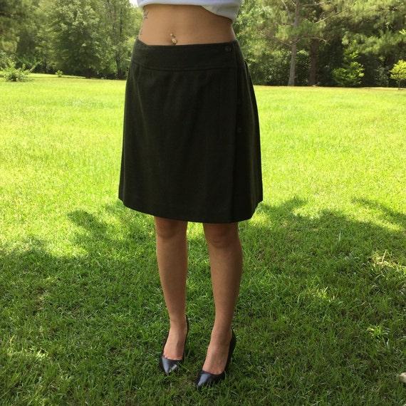 1980's mini skirt 100% wool by ReFabulousReVamped on Etsy