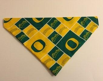 Dog bandana, Oregon Ducks (U of O)