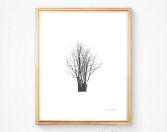 Tree art, Tree print, Tree artwork, tree printable artwork, tree decor, tree wall art, tree wall decor, wood art, wood printable, tree art