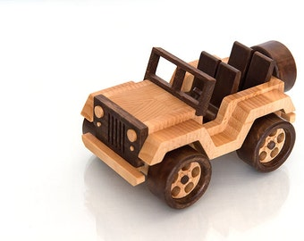 Frostyycrafts Wooden Toy Car Vw Beetle