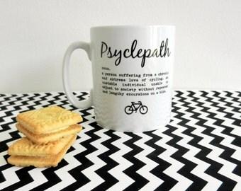 Cycling Mug - Psyclepath