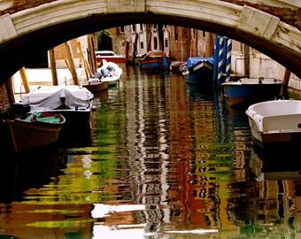 Venice Canal, Venice Photography, Italy, Carte Blanche Images, Bridge Photography, Carte Blanche Images