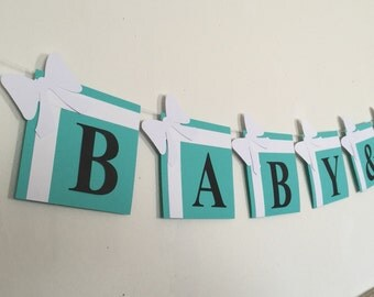 Baby & co. baby shower banner (color options)