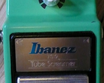 Modify Your Ibanez TS9 Tube Screamer Guitar Pedal + Upgrades! Alchemy Audio Pedal Modification Service.