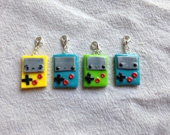 Gameboy color charms
