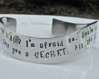 "Shop ""alice in wonderland jewelry"" in Bracelets"