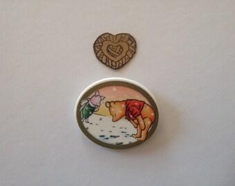 Vintage Winnie The Pooh Magnet