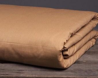 Linen duvet cover, linen bedding, eco linen, duvet cover, brown orange, queen size king size, bedding set, single duvet cover, double duvet