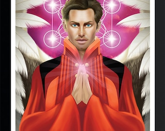 Archangel Metatron by Jason Mccreadie 2014