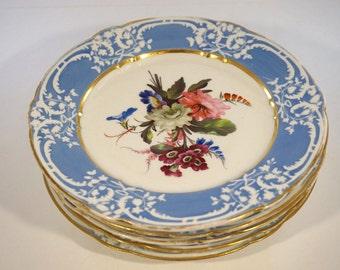 Coalport China Plates - 1820s