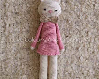 Pretty Kitty Amigurumi Stuffed Animal Toy Crochet
