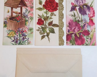 15 Fifteen different vintage decorative lithograph stationary cards See All Photos to see images