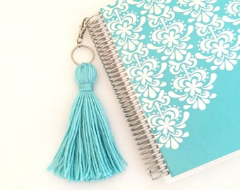 Robin's Egg Blue Yarn Tassel