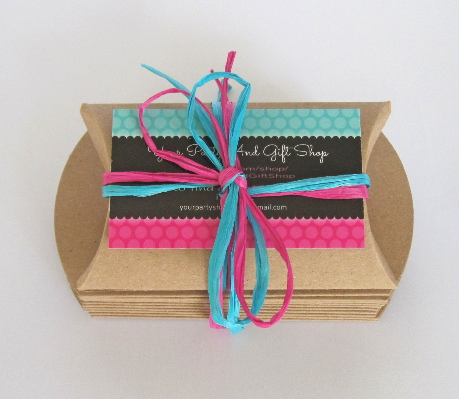 80x55x20mm Diy Black Kraft Paper Pillow Jewelry Display: Pillow Boxes, 25 Gift Boxes, Small Boxes, Kraft Boxes
