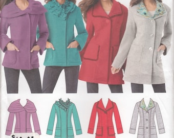 Simplicity 1540 Misses Jacket Sewing Pattern - Jacket in Two Lengths - Womens Clothing Sewing Pattern- Uncut Sewing Pattern