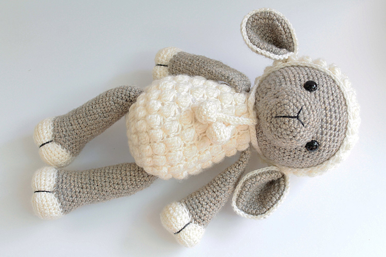 Amigurumi Lamb Pattern : PATTERN : Sheep / Lamb Amigurumi Sheep Amigurumi Lamb