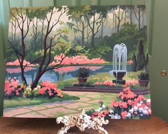 Large 16 x 20 Paint by Numbers Garden Scene