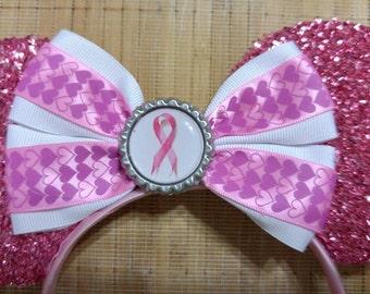 Disney Breast Cancer Minnie Ears