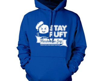 "Stay Puft Marshmallow Corp. Hoodie  This Hoodie Hoody Is inspired by the classic 1984 comedy/horror ""Ghostbusters""."