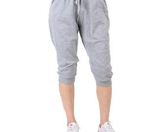 Women's Capri Jogger Active Pants