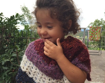 Crochet patterns, baby, girl, boy, women, wrap, poncho, scarf, shawl, neckwarmer, shrug