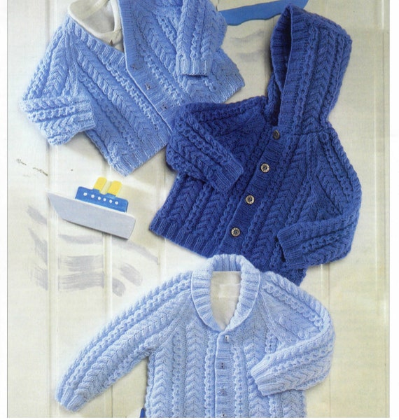 Baby Shawl Collar Knitting Pattern : knit baby jacket sweaters hooded v-neck-shawl collar
