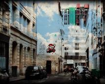 Super Mario, Streets of Paris, France, Super Mario Bros, Street Art, Travel, Urban Inspiration, Photography, Digital, Pop Art, Mario Bros