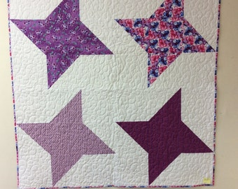 Four Star Baby quilt/wall hanging