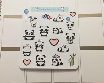 Kawaii Pandas Stickers!-155
