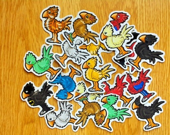 Chocobo Stickers