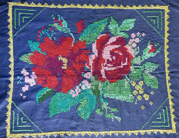 Vintage ukrainian embroidery s traditional by letitbestyle