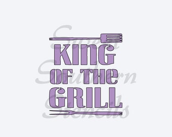 King of the Grill Stencil