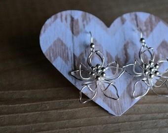 Flower 925 Sterling Silver