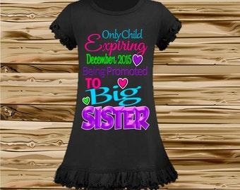 Big Sister Dress - New Big Sister Announcement Dress