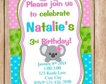 Koala Invitation