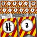 DIY Harry Potter Style Birthday Party Decorations Banner Printable PDF Instant Download-Happy Birthday