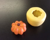 PUMPKIN flexible silicone for soap candles cakes play doh jewelry clay tiny minimolds food miniatures miniature doll accessories