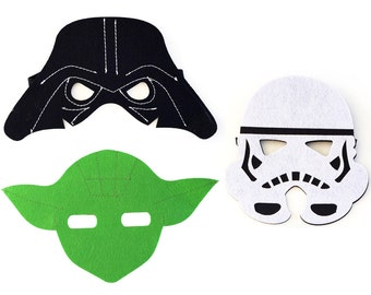 star wars mask etsy. Black Bedroom Furniture Sets. Home Design Ideas