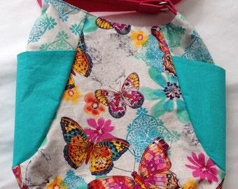 Butterfly Hobo Handbag