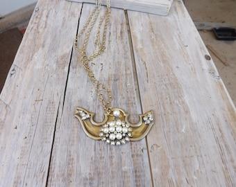 Vintage Keyhole Necklace