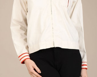 Vintage sailor style jacket