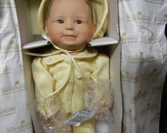 Ashton Drake Baby Yelllow Sunshine Doll Porcelain doll